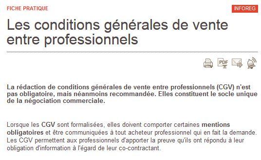 CGV agences web